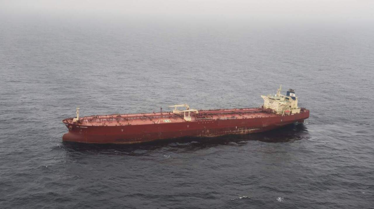 Ryska fartyget utanfor gotska sandon