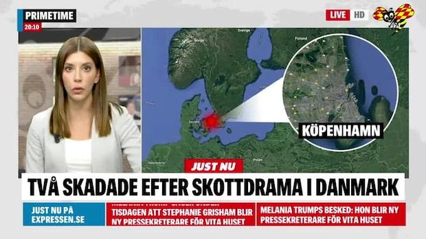 En person död efter skjutning i Köpenhamn