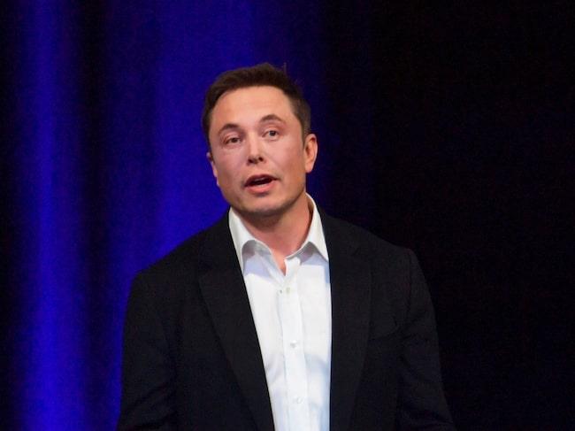 Tesla-grundaren Elon Musk.