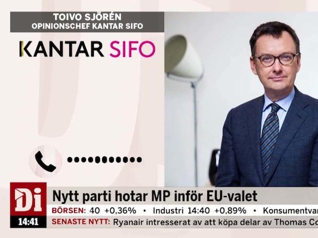 Nytt parti hotar MP inför EU-valet
