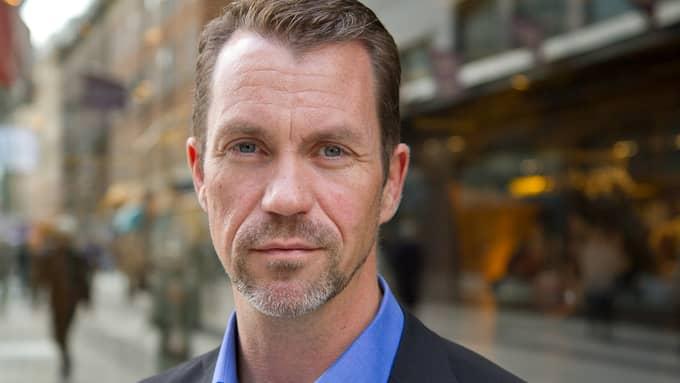 Per Geijer, säkerhetschef på Svensk handel, berättar att brott mot butiker har ökat stadigt sedan 2014. Foto: / BJÖRN MATTISSON