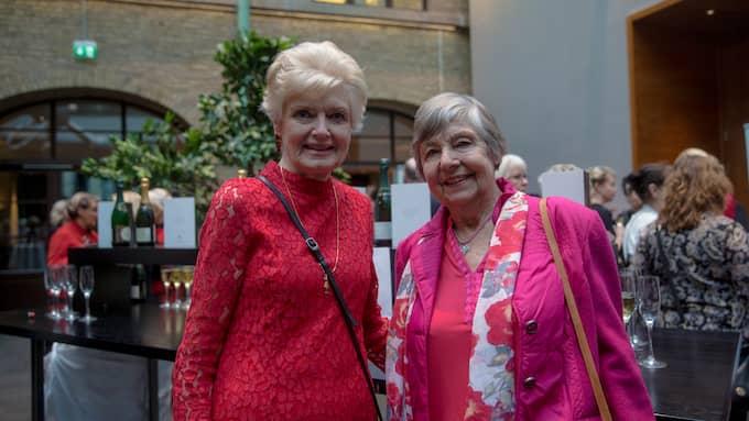 Margit Hellström, 78, Kållered och Elfriede Börjeson, 82, Kållered. Foto: HENRIK JANSSON