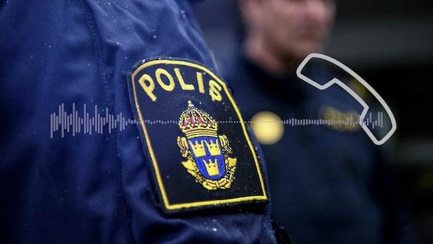 """Polisen: """"Sökt efter gärningsmannen som lämnat platsen"""""""