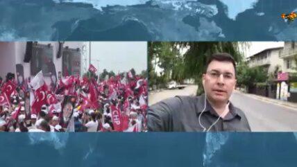 Koray Kaya rapporterar från turkiska valet