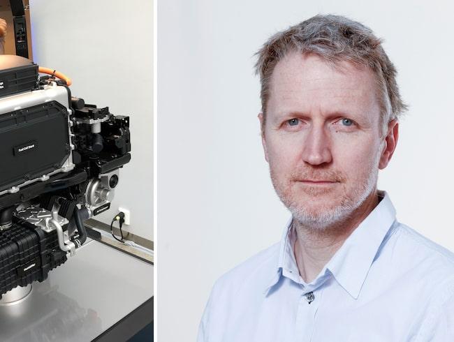 Hyundai Nexos motor och bränslecell – snyggt, rent och effektivt, enligt Allt om Bilars Jan-Erik Berggren.