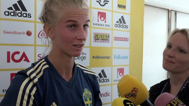 "Sofia Jakobsson om USA: ""Helt annan matchbild"""