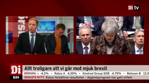 Allt troligare att vi går mot mjuk Brexit