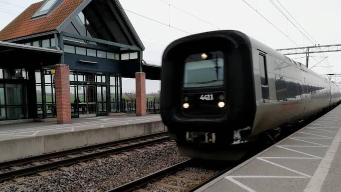 Mannen greps på Landskrona station Foto: CSABA BENE PERLENBERG / KVP