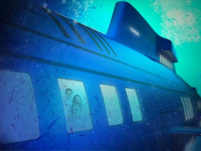 Båten kan dessutom förvandlas till en u-båt för de där speciella tillfällena då du vill sjunka under ytan.
