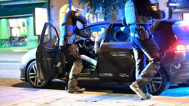 Man skjuten på Ica-parkering