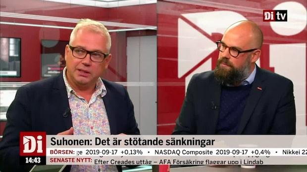 """Tobias Wikström: """"Inkomsterna kommer att öka"""""""