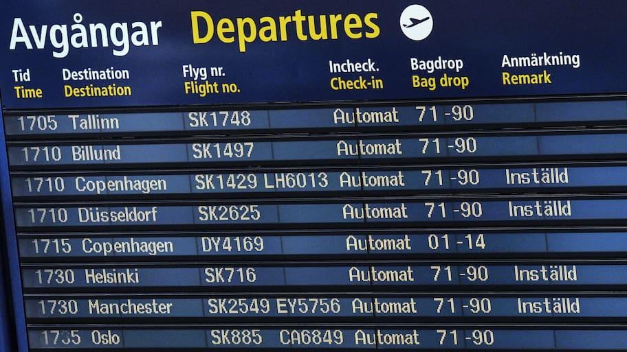 En EU-förordning reglerar passagerares särskilda rättigheter om flyget inte lyfter