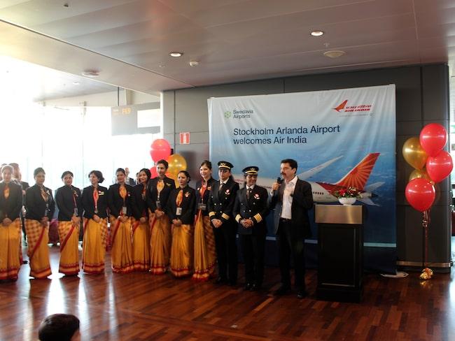 Nu tvingas kabinpersonalen på Air India att banta.