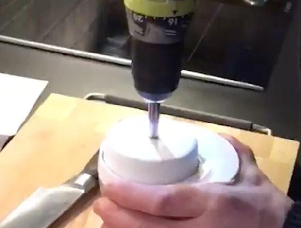 Smarta sättet att hacka lök