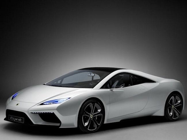 2010 visade Lotus upp konceptbilen Esprit Concept. Men modellen blev aldrig verklighet.