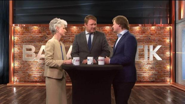 Bara politik: Se debatten mellan Anna Maria Corazza Bildt (M) och Carl Schlyter (MP)