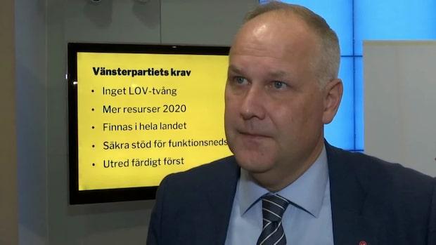 """Jonas Sjöstedt (V): """"Om regeringen vägrar lyssna då ger de oss inget val"""""""