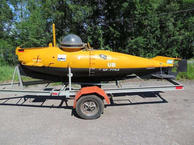 Ubåten var en gåva från tyska myndigheter till den argentinska marinen mitt under ett brinnande andra världskrig.