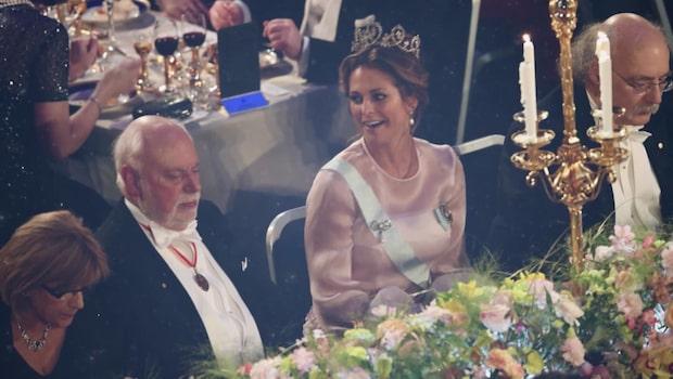 Kungliga gästerna på hemliga efterfesten