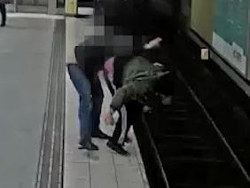 "Tiggaren Anders om attacken i tunnelbanan: ""Total panik"""