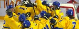 17.30: Se Sveriges historiska VM-final