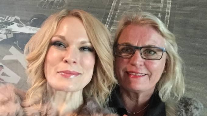 Ida Boström gör resan tillsammans med mamma Kristina Norgren. Foto: Privat