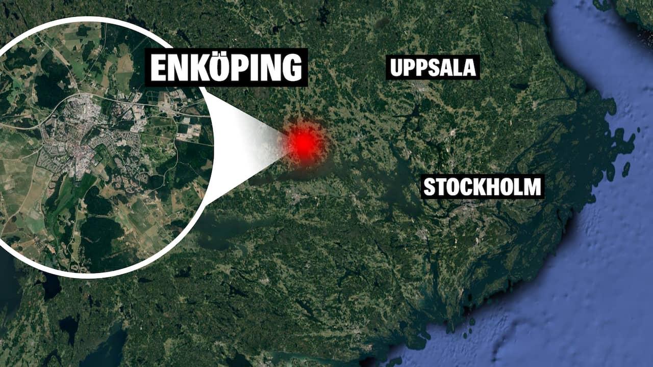 Misstänkt föremålet hittat i Enköping – bombgruppen på plats