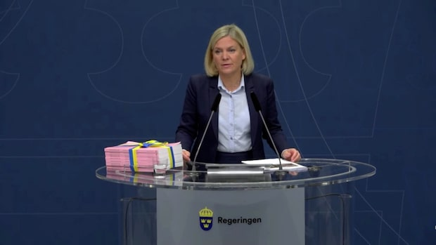 """Magdalena Andersson (S): """"Budget för ett starkare samhälle"""""""