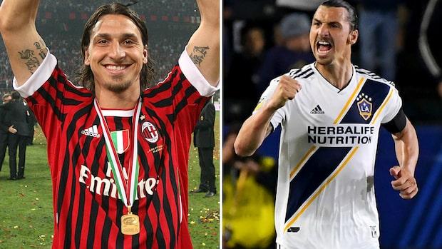Zlatan Ibrahimovic uppges vara överens med Milan