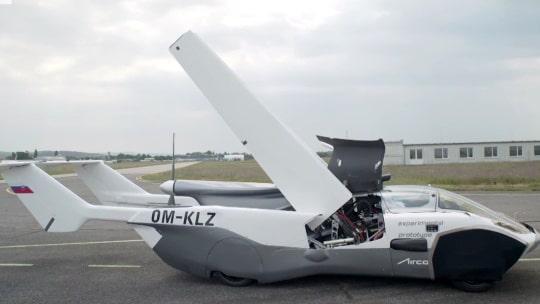 Här får bilen vingar  – och lyfter