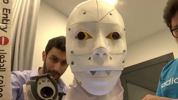 Robot-sjukvårdare testar covid-19-patienter
