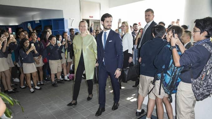 Prins Carl Philip är på officiellt besök i Hongkong. Foto: DAVID SICA / STELLA PICTURES