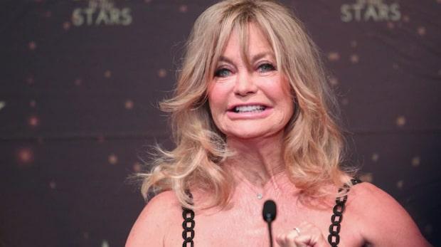Goldie Hawns hemlighet avslöjad