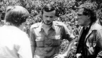 Arne Lemberg, till höger, reste med Karl Bergman till Uganda 1979. Båda sköts ihjäl av Idi Amins soldater. Foto: Kenneth Jonasson
