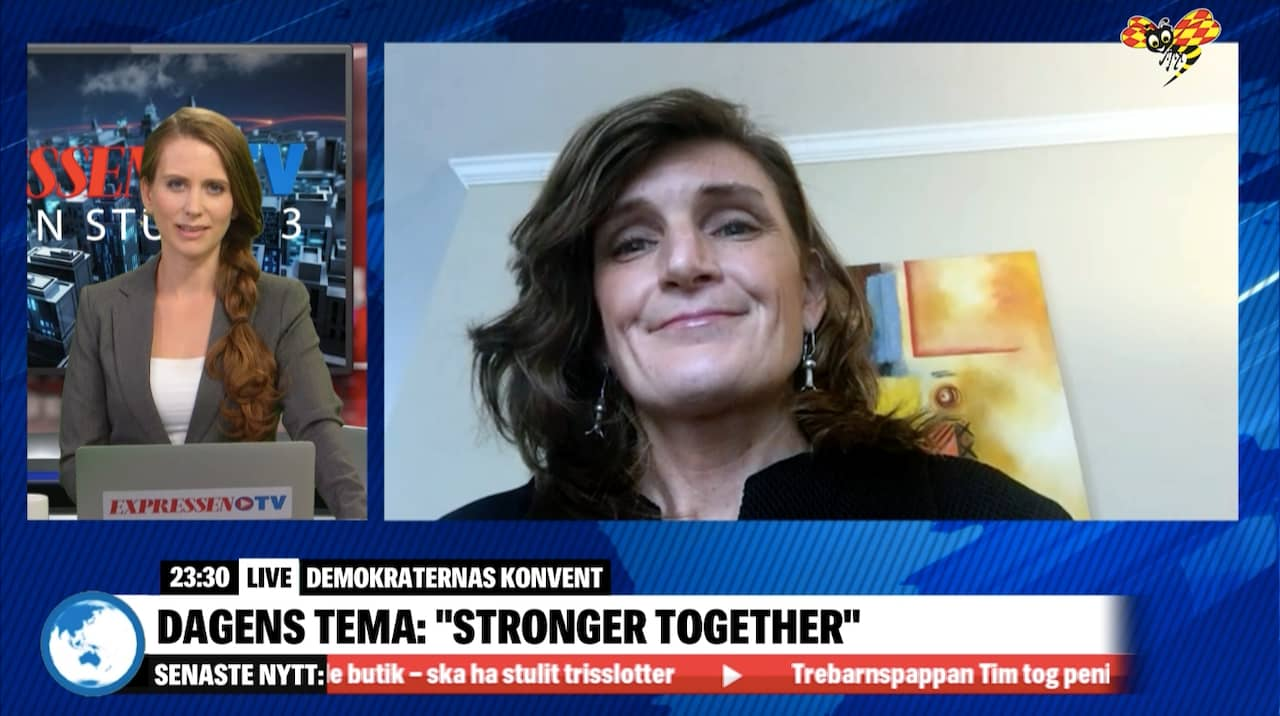 Gwen Young om demokraternas partikonvent i Philadelphia