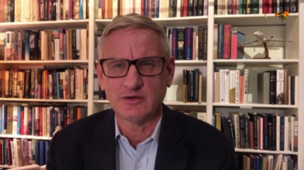 """Carl Bildt: """"Man kan inte springa bort från realiteten"""""""