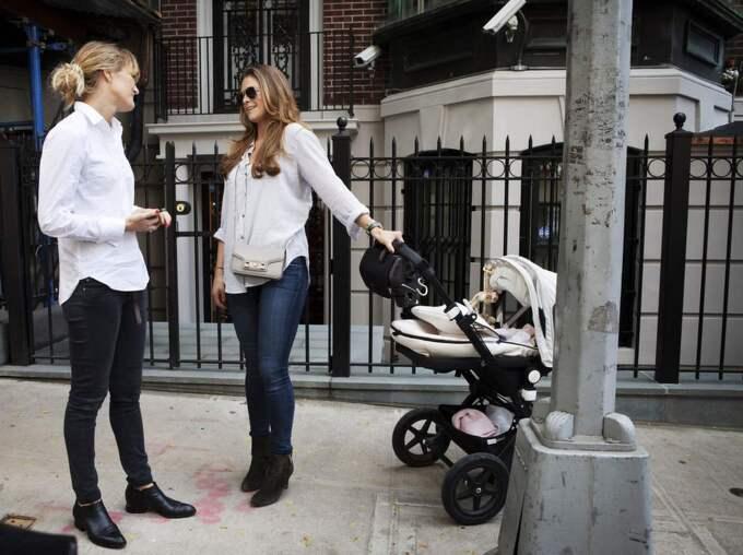 Expressens Anne-Sofie Näslund fick en pratstund med prinsessan Madeleine i New York. Foto: Linus Sundahl-Djerf