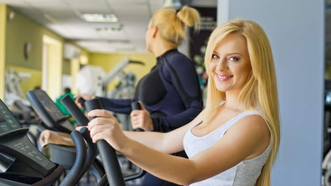 träna för att gå ner i vikt