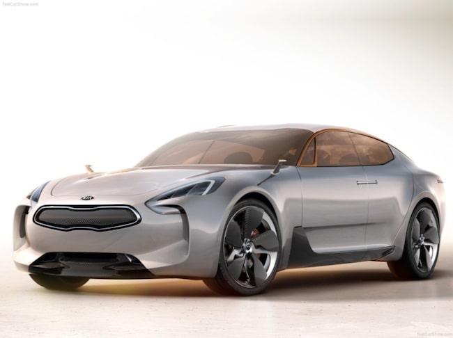 Kia GT Concept visades 2011 och nu blir visionen om en lyxsedan verklighet.