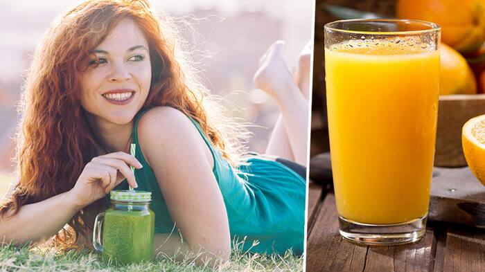 färskpressad juice kalorier