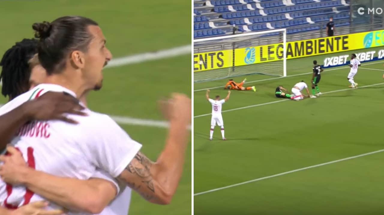 JUST NU: Zlatan slår till för Milan
