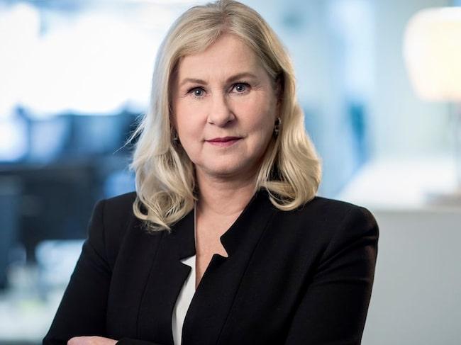 Heléne Lilja, chef kommunikation och samhälle på M Sverige.