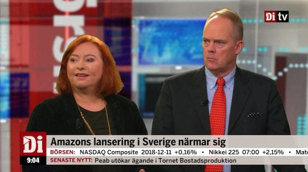 """Jönsson: """"Amazon har inte gått så bra i sina övriga europeiska etableringar"""""""