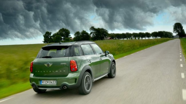 Mini Cooper S All4 Countryman.