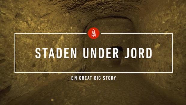 Han slog ut en vägg i källaren  – gjorde tusenårig upptäckt