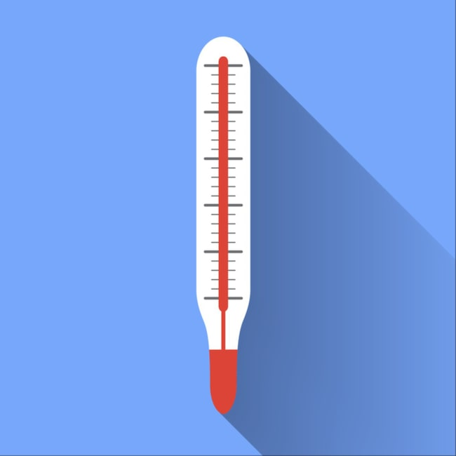 <span>16-18 grader är ett bra riktmärke.</span>