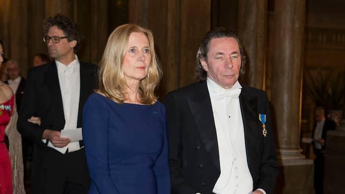 Katarina Frostenson och Jean-Claude Arnault. Foto: DAVID SICA / STELLA PICTURES
