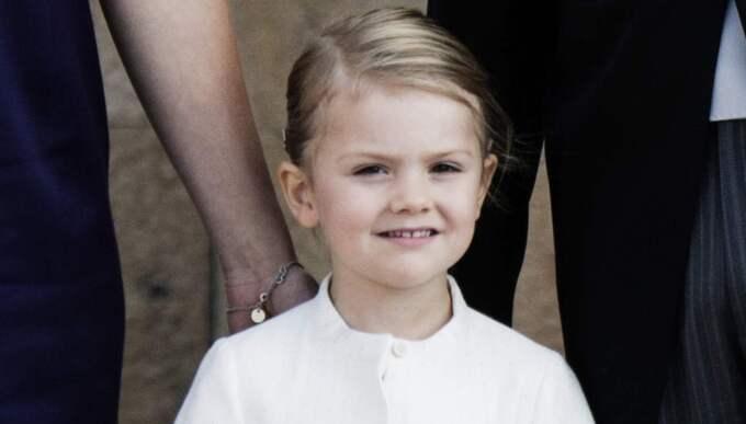 Prinsessan Estelles aktieportfölj är värd drygt 1,4 miljoner kronor Foto: Olle Sporrong