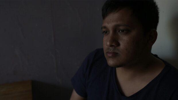 Alamin, 29, kämpar för arbetstillstånd