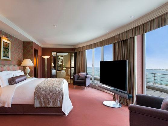 President Wilson Hotel i Genève har världens lyxigaste svit.
